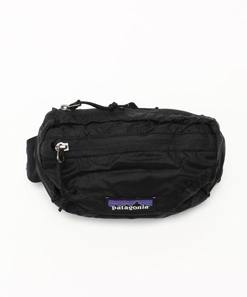 Black Patagonia Lightweight Travel Mini Hip Pack 1L