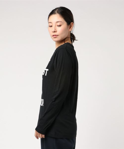 【v】プリント長袖Tシャツ