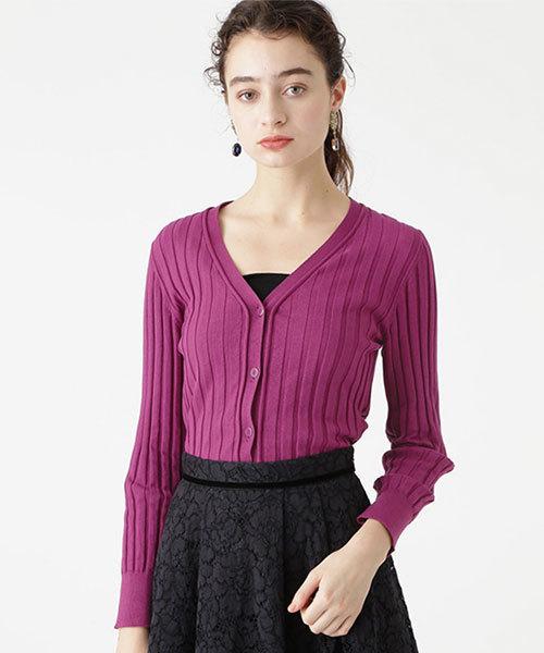 【NEW限定品】 【セール】◆《Endy ROBE》アガットワイドリブカーディガン(カーディガン)|JILLSTUART(ジルスチュアート)のファッション通販, 優遊ゆう:861ed76d --- blog.buypower.ng