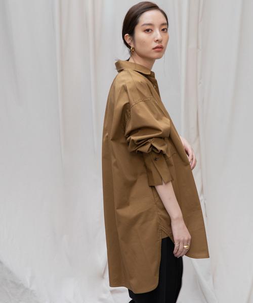本物 【Liyoca】ツイルオーバーシャツ(シャツ/ブラウス)|Liyoca(リヨカ)のファッション通販, 藤原町:f9425840 --- 5613dcaibao.eu.org