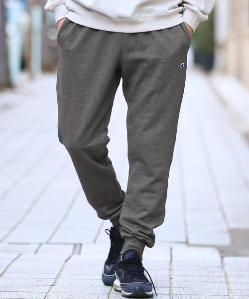 Champion(チャンピオン) スウェットジョガーパンツ / ジョガーパンツ メンズ スウェットパンツ 裾リブ 裏起毛