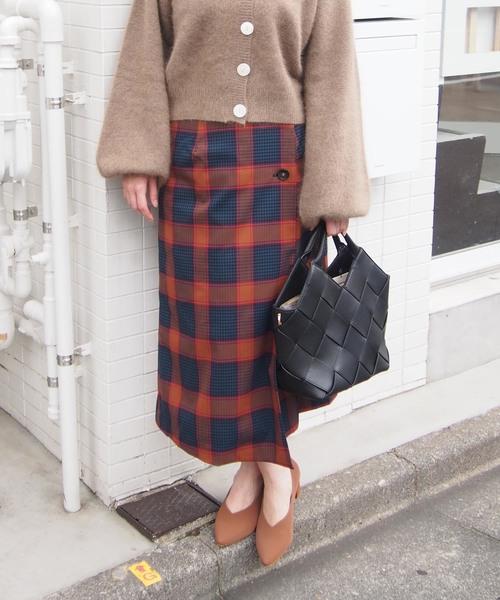 豪奢な 【セール】【日本製】チェック柄ラップスカート(スカート)|PICCIN(ピッチン)のファッション通販, ホンドシ:17c50189 --- blog.buypower.ng