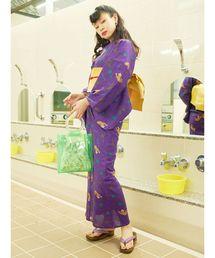 jouetie(ジュエティ)の【オリジナル浴衣】レオパードPOP浴衣(着物/浴衣)