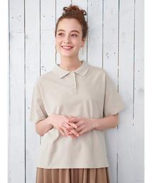 E hyphen world gallery(イーハイフンワールドギャラリー)のカノコルーズシャツ ●(Tシャツ/カットソー)