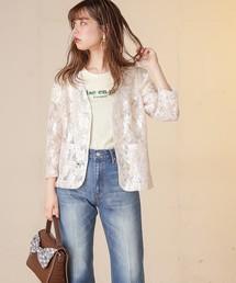 natural couture(ナチュラルクチュール)のブラウスジャケット(ブルゾン)