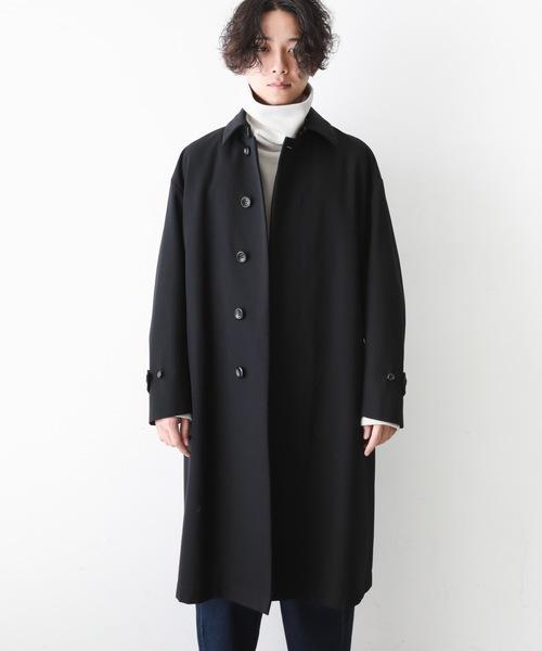 【海外輸入】 W/Cハイカウントギャバ ステンカラーコート(ステンカラーコート) KAZUYUKI KAZUYUKI KUMAGAI ATTACHMENT(カズユキクマガイアタッチメント)のファッション通販, LTD online:03a74398 --- tsuburaya.azurewebsites.net