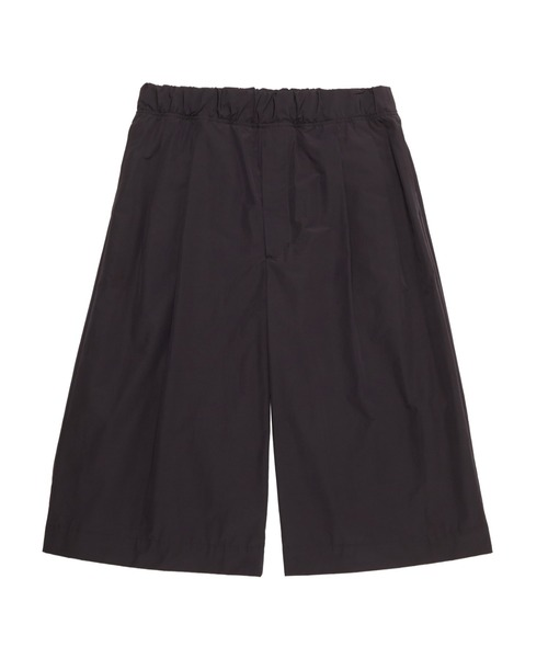 SPRING2021 2TUCK WIDE HALF PANTS