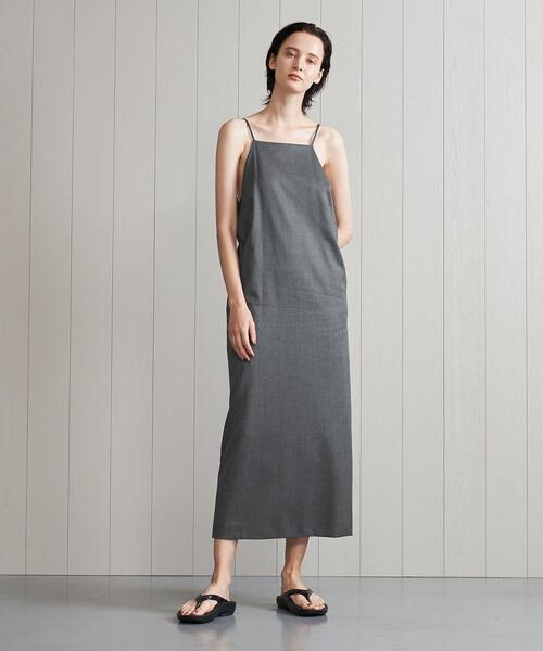 <H>GABA CAMISOLE DRESS/ワンピース