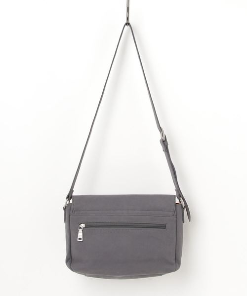 【Ficce,Brave/フィセブレイブ】PVC フラップショルダーバッグ