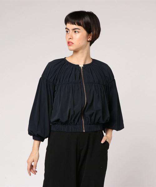 最愛 【セール】2WAYストレッチギャザーブルゾン(ブルゾン) allureville(アルアバイル)のファッション通販, アンパチグン:962e9ea2 --- skoda-tmn.ru