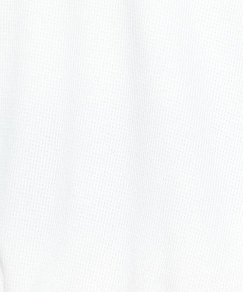 <NEHERA>WAFFLE JERSEY BLEND/トップス ◆