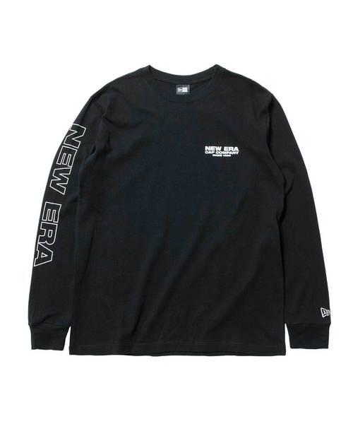 NEW ERA(ニューエラ)の「ニューエラ Tシャツ 長袖 CAP COMPANY SINCE 1920 ブラック b509dfa1e129