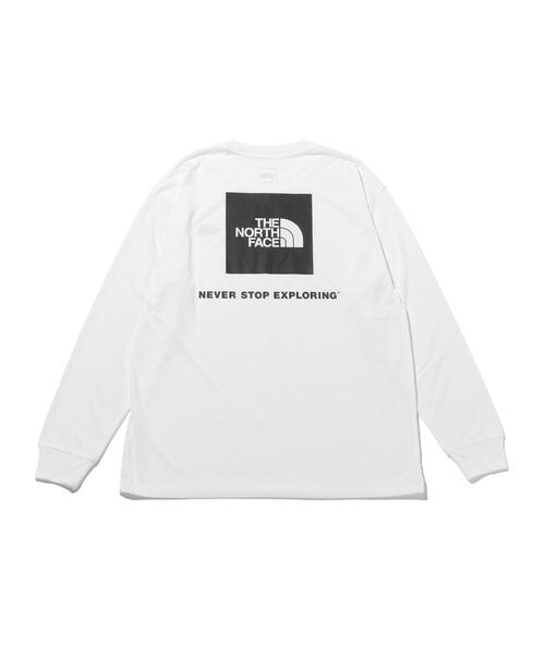 <THE NORTH FACE> BACK LOGO LS TEE/Tシャツ