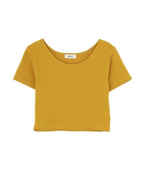 シンプルショートTシャツ