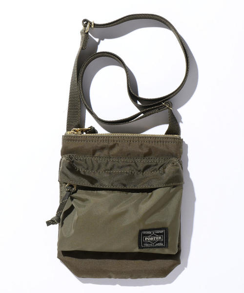 <PORTER(ポーター)> FORCE SHOULDER POUCH/ショルダーバッグ