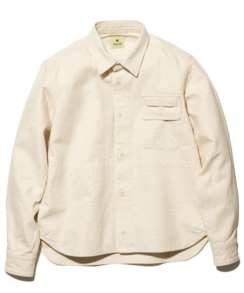 100%正規品 オカヤマ オックス Snow ワークシャツ(シャツ Peak/ブラウス)|Snow Peak(スノーピーク)のファッション通販, ユザワシ:aa315323 --- talkonomy.com
