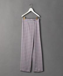<6(ROKU)>CHECK PANTS/パンツ