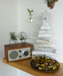SPICE OF LIFE(スパイス オブ ライフ)の流木風クリスマスツリー Sサイズ 約40cm(インテリアアクセサリー)
