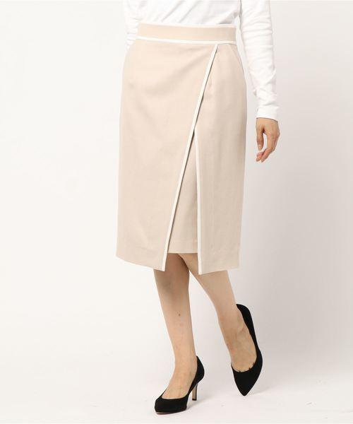 世界の バイカラートリミングラップスカート(スカート)|PINKY&DIANNE(ピンキーアンドダイアン)のファッション通販, ニシゴウムラ:6b327587 --- 888tattoo.eu.org