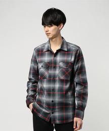 CHROME(クロム)のWOVEN STRETCH WORKSH / ウーヴン ストレッチ ワークシャツ(シャツ/ブラウス)
