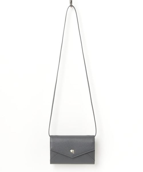 ハートロゴ金具シリーズ お財布ショルダーバッグ