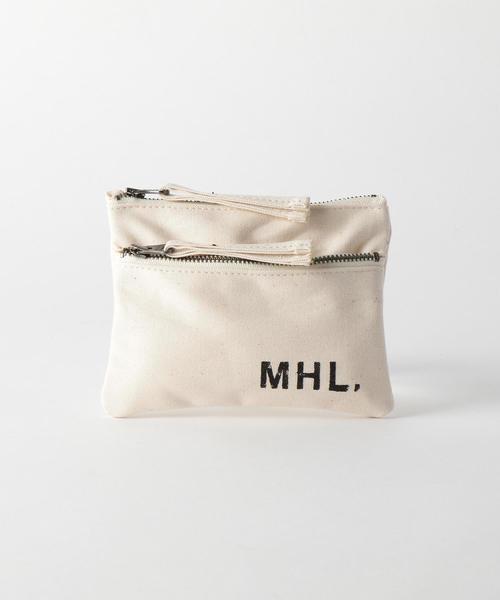 <MHL.> MINI POUCH/ポーチ