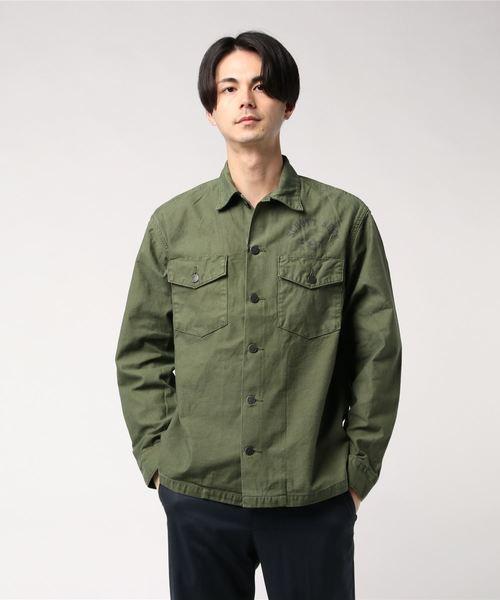 【お買得】 Schott/ショット/FATIGUE CAPTAIN SHIRT CAPTAIN SKULL/ファティーグシャツ SHIRT キャプテンスカル(シャツ/ブラウス) schott(ショット)のファッション通販, TT-Mall:bc073881 --- blog.buypower.ng