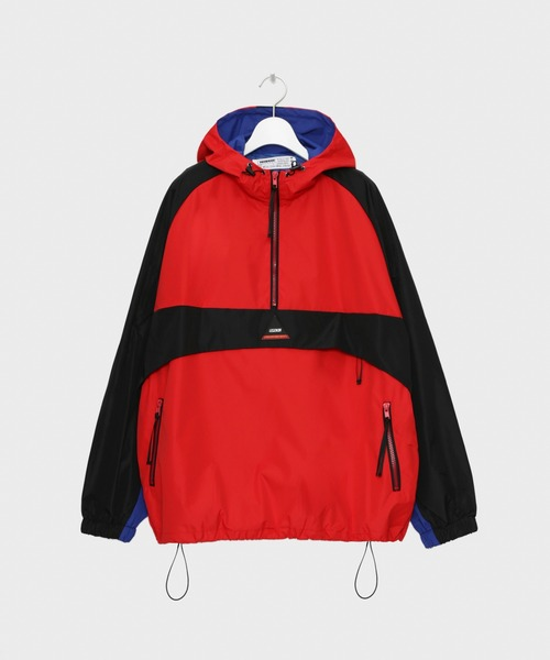 【コンビニ受取対応商品】 Color blocking blocking Anorak Jacket(ブルゾン) Anorak|LEGENDA(レジェンダ)のファッション通販, ショウカワムラ:1faff6a3 --- skoda-tmn.ru