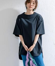 【WEB限定復刻】天竺ラウンドビッグTシャツ#