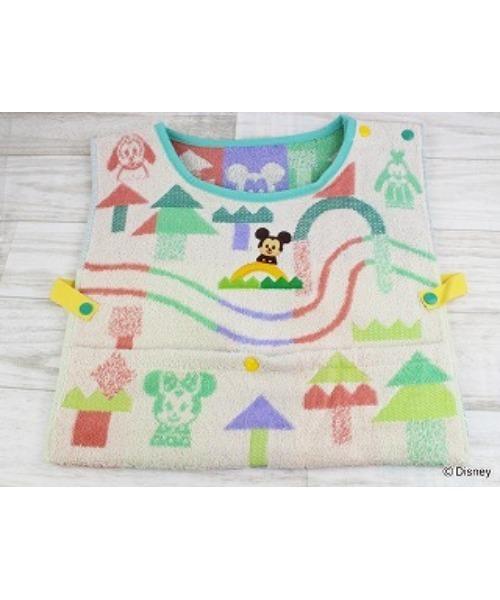 【 Disney KIDEA / ディズニーキディア】TUNAGARU MORI ベスト型タオル TOB 711077380