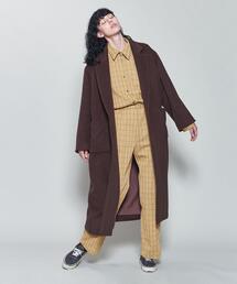 <6(ROKU)>SHAGGY COAT/コート