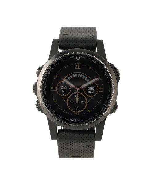 Garmin / fenix5S Sapphire Black マルチスポーツウォッチ