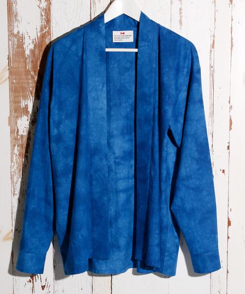 大特価 VOTE MAKE NEW CLOTHES ヴォート メイク ニュー クローズ JAPONICATION DYED  SHIRTS シャツカーディガン, サナゴウチソン 2a7b9db3