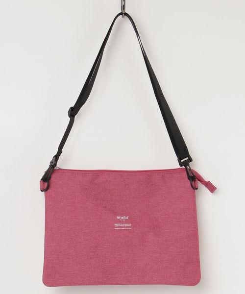 anello/高密度杢調ポリサコッシュバッグ