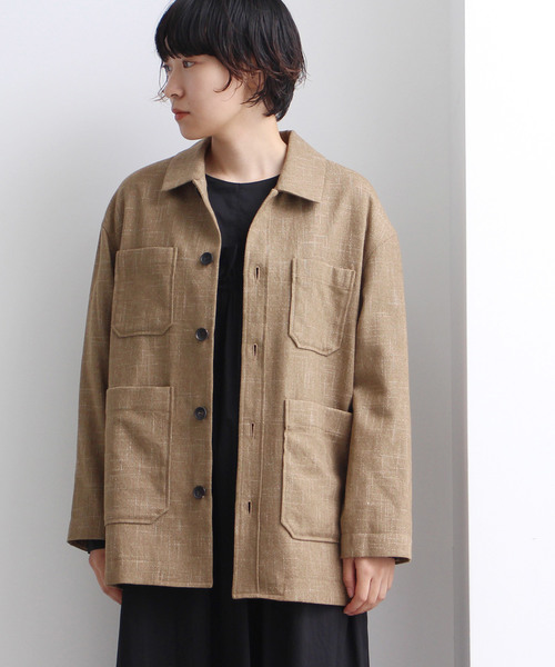 柔らかい tweedy wool safari ジャケット(テーラードジャケット) de yuni,ユニ,bulle|yuni(ユニ )のファッション通販, なかひがし商店:1b1f201a --- ascensoresdelsur.com