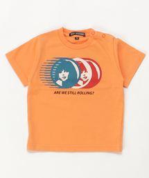 STILL ROLLING Tシャツ【XS/S/M】オレンジ