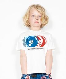 STILL ROLLING Tシャツ【XS/S/M】アイボリー