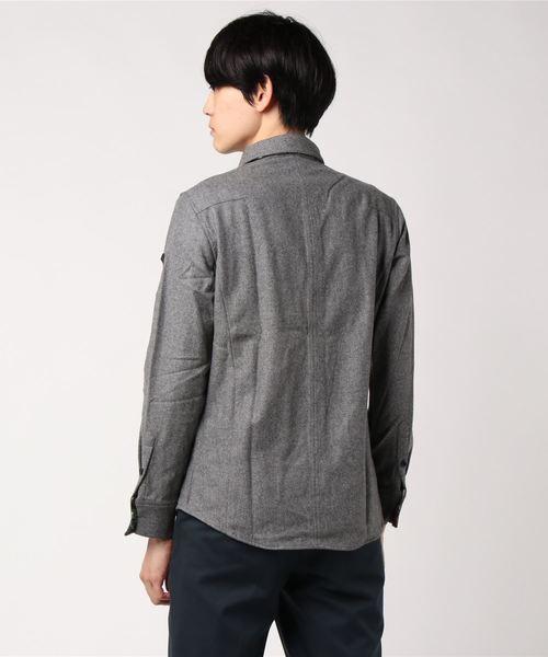【REGIEVO】高級なウールを使用した上質なシャツ
