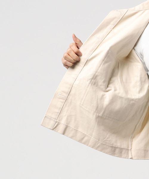 【SHAGGIE】ミリタリーショートジャケット