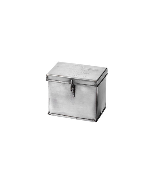 PUEBCO(プエブコ)の「STEEL CONTAINER WITH PARTITION Small(収納グッズ)」|その他