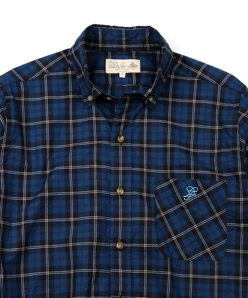 TARTAN CHECK B.D SHIRT:タータンチェック ボタンダウンシャツ