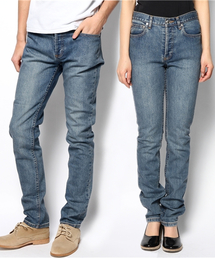 A.P.C.(アーペーセー)のPETIT NEW STANDARD/DENIM BRUT DELAVE STRETCH(デニムパンツ)