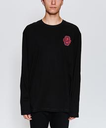 <CLOT> FLOCKING LS TEE/Tシャツ