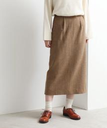 yuni(ユニ )のtweedy wool tight スカート(スカート)