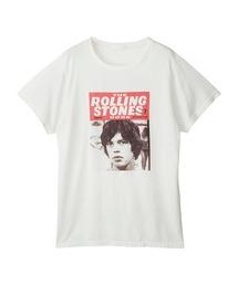 THE ROLLING STONES/RS BOOK NO.7 オーバーサイズTシャツホワイト