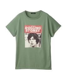 THE ROLLING STONES/RS BOOK NO.7 オーバーサイズTシャツグリーン