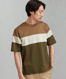 CSM ポンチ パネルシーム クルーネック 半袖 Tシャツ カットソー