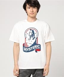 SATISFACTION プリント Tシャツ