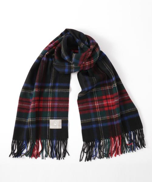 Jubilee Fabric(ジュビリーファブリック)の「カシミヤ 大判ストール(ストール/スヌード)」|ブラック