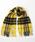 Jubilee Fabric(ジュビリーファブリック)の「カシミヤ 大判ストール(ストール/スヌード)」|イエロー